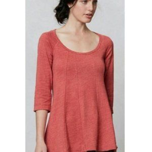 Anthropologie {Deletta} Pathed Seams Tee Top XS
